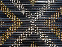 Maori weaving artwork. Abstract background and texture stock images