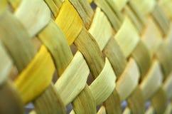 Maori wevend kunstwerk Stock Afbeelding