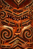 Maori Wood carving Royalty Free Stock Photos