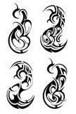 Maoritatuering Royaltyfri Bild