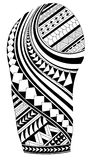 Maoritatuering Royaltyfri Fotografi
