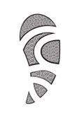 Maory-Art-Tätowierung Stockbild
