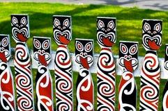 Maoryjska Sztuka Obraz Stock