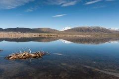 Maoryjski jezioro Fotografia Royalty Free