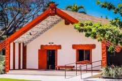 Maoryjski spotkanie dom Obraz Stock