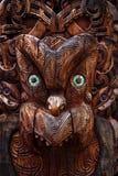 Maoryjski totem zdjęcie royalty free