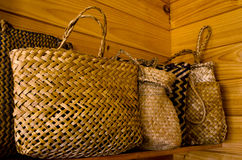 Maoryjskie len torby Zdjęcie Royalty Free