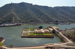 Maota Lake, Amber Fort or Palace, nr Jaipur, India Royalty Free Stock Image