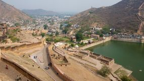 Maota Lake view from Amer Fort