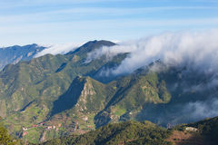 Maountains of Anaga. A view upon the mountains of Anaga on the european island Tenerife Stock Image