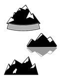 Maountains vector illustration Royalty Free Stock Photos