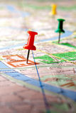 Map Royalty Free Stock Photography