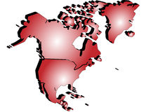 The map 3d Stock Images