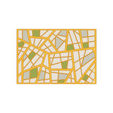 Map abstract background with geometric figures. Vector illustration Royalty Free Stock Photography