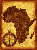 Map of Africa Royalty Free Stock Images