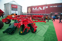 MAP - Agricultural Performance Machinery Royalty Free Stock Images