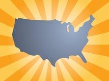 Map America Stock Image