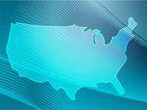 Map America Stock Photo