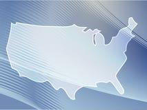 Map America Stock Photo