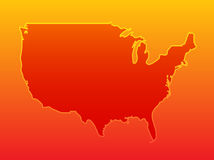 Map America Stock Photography