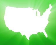 Map America Royalty Free Stock Photos