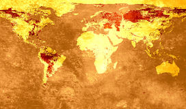 Map background Royalty Free Stock Photography