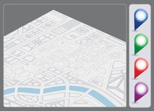 Map background Royalty Free Stock Images