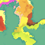 Map background Royalty Free Stock Photos