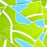 Map background pattern Stock Photo