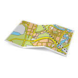 Map booklet Royalty Free Stock Photos