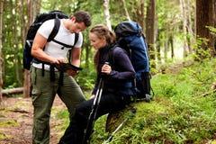 Map Camping stock photos