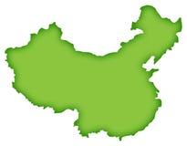 Map of china. China map Royalty Free Stock Photo