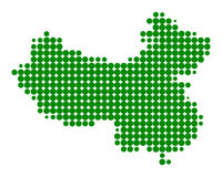 Map of China Stock Photos