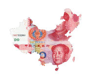 Map of CHINA Stock Image