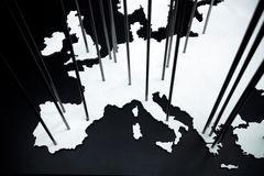 The map of Europe Stock Photos