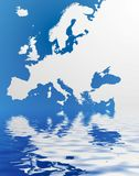 Map of Europe vector illustration
