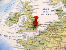 Map of Europe Royalty Free Stock Image