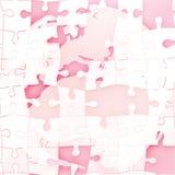 Map of Europe jigsaw Royalty Free Stock Image