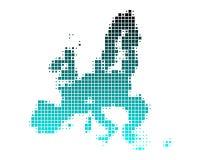 Map of European Union Royalty Free Stock Photos