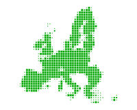 Map of European Union Stock Images