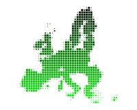 Map of European Union Stock Photos