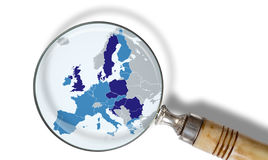Map of the European Union Stock Photography