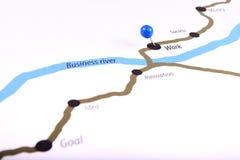 Map of financial success Royalty Free Stock Photos