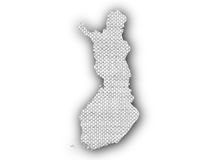 Map of Finland Royalty Free Stock Images