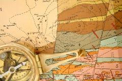 map geologicznych Zdjęcia Stock