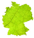 Map of Germany Stock Images