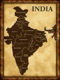 Map of India Stock Photos
