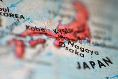mapę japonii Fotografia Royalty Free