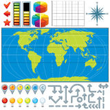 Map Kit Stock Photo