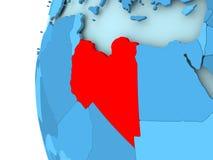 Map of Libya Royalty Free Stock Image